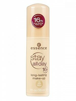 Essence Stay All Day Makeup Foundation long-lasting make-up-10 soft beige 30ml