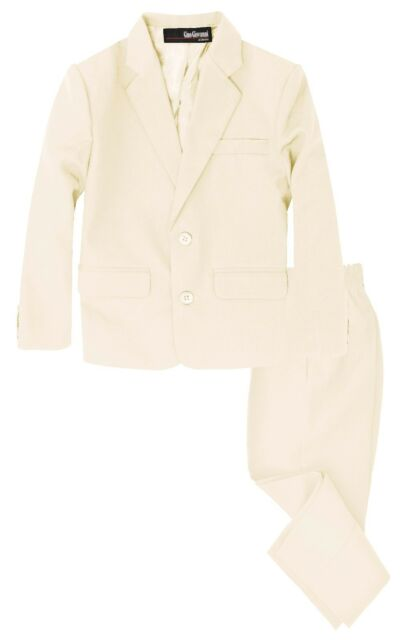 G218 Gino Giovanni Boys 2 Piece Suit Set Toddler to Teen