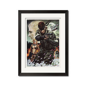 Details About Metal Gear Solid Snake Eater Art Poster Print