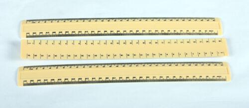 30cm Cream Rolinx Ruler x 3