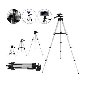 Pro Trépied Support pour Caméra Appareil Photo Smartphone Holder Sac 35-110cm FR