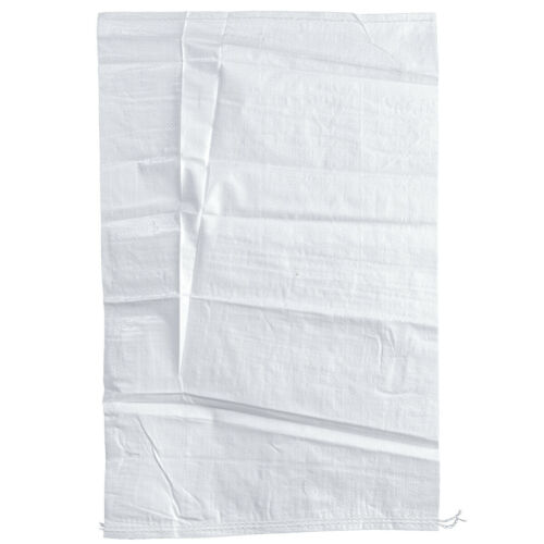 esta bien haga ® tejidos saco 60 x 110cm pesado saco pp-bolsa de cereales saco blanco 10 stk
