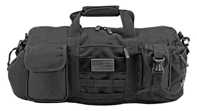 "East West U.S.A Tactical Multi-Pocket 22/"" Humvee Duffle Bag Gray Brand New!"