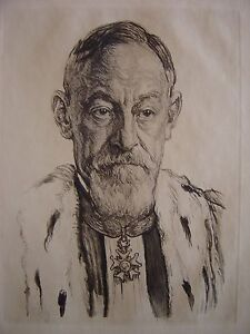 Portrait-de-Monsieur-Eugene-DREYFUS-Planche-Premier-president-a-la-Cour-d-039-Appel