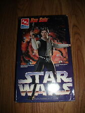 Ertl AMT Star Wars Han Solo Model Kit 1995 Collector Edition