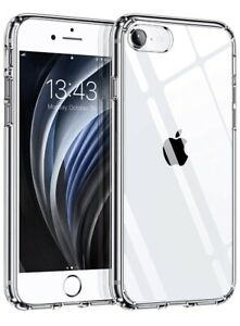 Coque Compatible Avec Iphone 7/8 Se 2020 Tranparent
