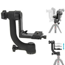 Pro Panoramic 360° Swivel Gimbal Pan Tripod Head for Telephoto Lens DSLR Camera