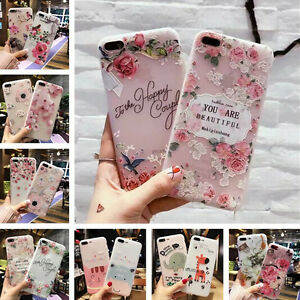 For-iPhone-XS-Max-XR-7-6s-Retro-Flower-Letters-Cute-Animal-Soft-Girl-Case-Cover