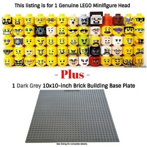 1-LEGO-Minifigure-Head-PLUS-1-Dark-Grey-10x10-inch-32x32sd-compatible-base-plate