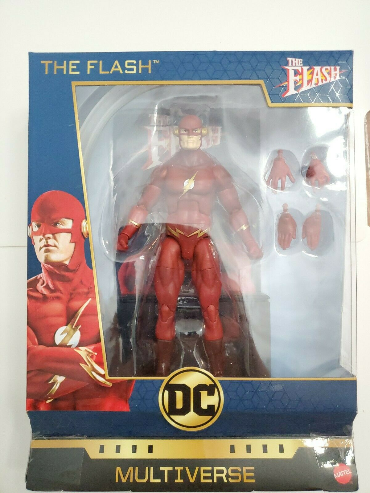 "Barry Allen DC Comics Multiverse 6/"" TV Series Flash Figure NEW"