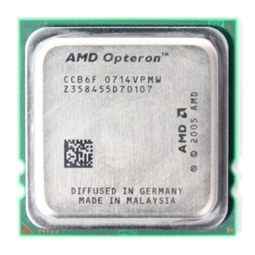 1 of 1 - AMD Opteron 2220 2 x 2.80GHz OSA2220GAA6CX Base/Socket For Dual Core CPU