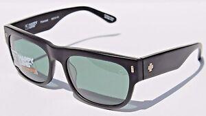 3e04dcb5021 Image is loading SPY-OPTICS-Hennepin-POLARIZED-Sunglasses-Matte-Black-Happy-