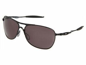 Oakley-Crosshair-Sunglasses-OO4060-05-Polished-Black-Warm-Grey