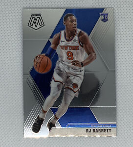 RJ-Barrett-2019-20-Panini-Mosaic-Base-Rookie-229-New-York-Knicks-RC