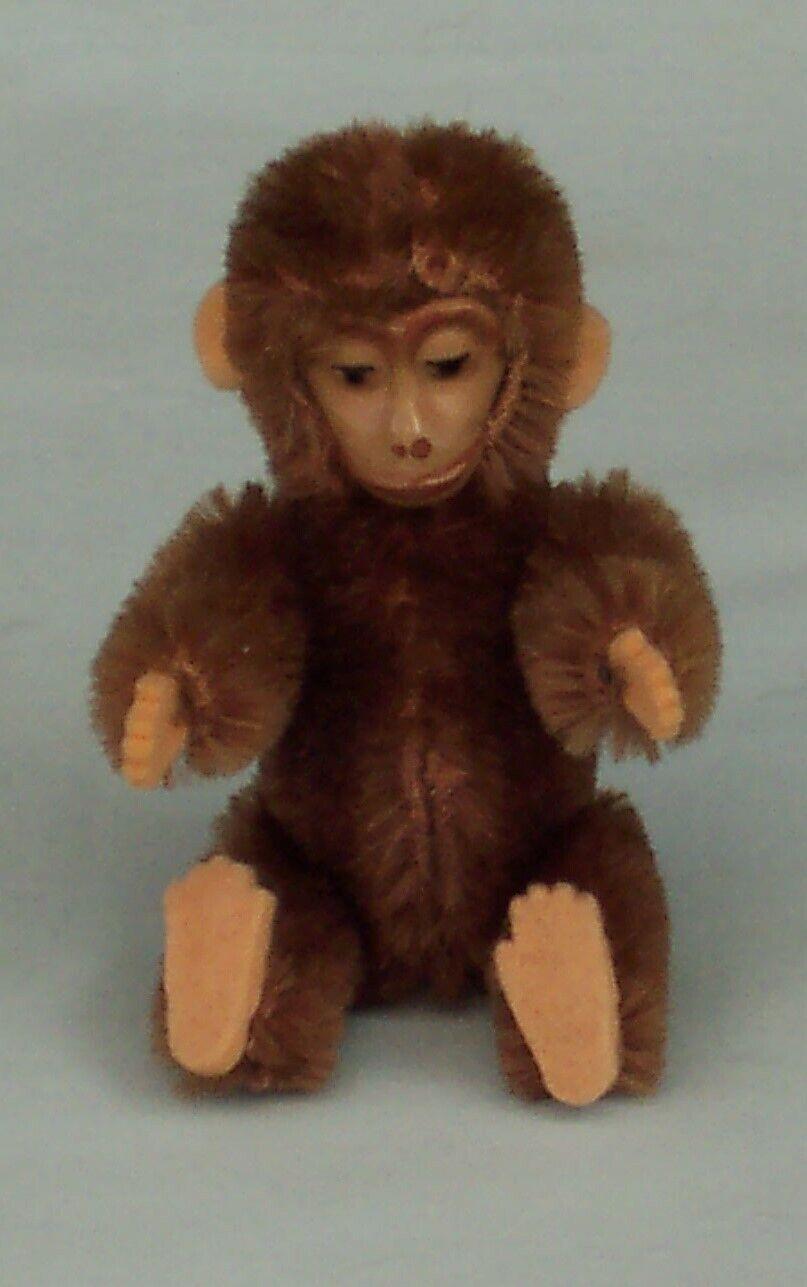 Vintage Schuco Monkey Small Miniature Größe Character Toy Germany