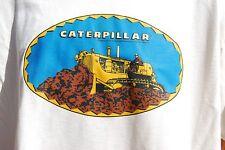 Caterpillar retro vintage art mens 100% Cotton T Shirt , S,M,L XL, graphic