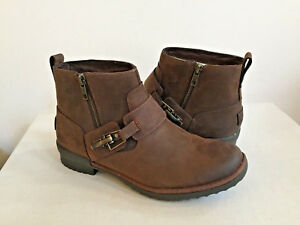 bf1299bed4d Details about UGG CHEYNE COCONUT SHELL LEATHER ANKLE BOOT US 7 / EU 38 / UK  5 - NEW