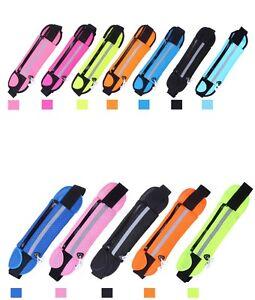 Unisex-Sports-Waist-Belt-Bum-Bag-Running-Cycling-Travel-Pouch-Keys-Mobile-Card