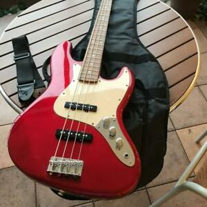 For Beginners Photogenic Bass Guitar Red