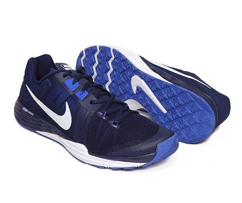 Nike treno primo ferro df formazione scarpe blu freeship 832219 m uomini