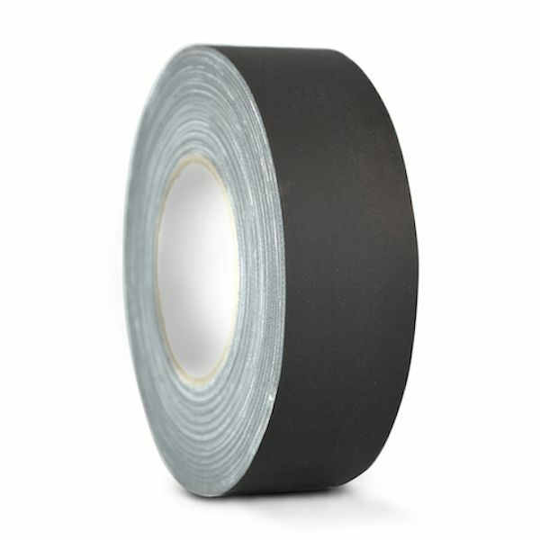 BLACK GAFFERS AUDIO STAGE TAPE: 2 IN. X 60 YDS. (Redisue Free)