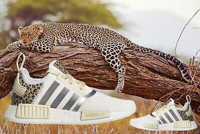 ADIDAS ORIGINALS NMD R1 ANIMAL PRINT RUNNER WOMEN's FOOTWEAR WHITE - PLATINUM | eBay