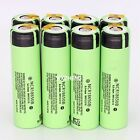 2~8 PCS panasonic NCR18650B 3400mah Rechargeable Li-ion Battery With Tabs