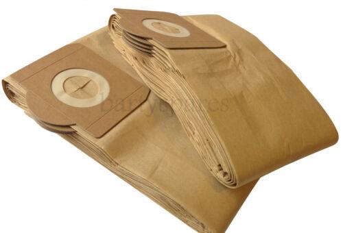 Dieci extra forte Polvere Hoover sacchetti per Sealey PC300 Series ASPIRAPOLVERE