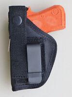 Holster For S&w Bodyguard 380 With Or Without Laser Black Hip Belt Inside Pants