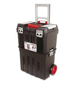 Carro / Caja De Herramientas Plástico Con Ruedas - Trail Box - Taller Móvil