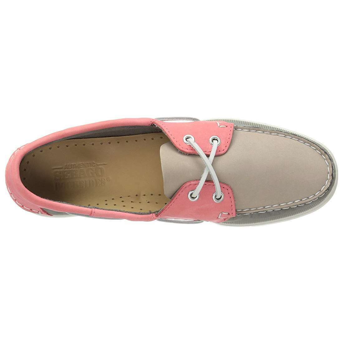 Sebago Docksides Women NEW NEW NEW Spinnaker 2-Eye Slip On Suede Boat shoes Loafers b1f665