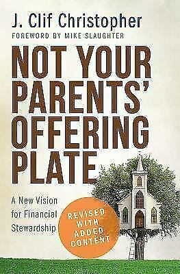 Not Your Parents' Offering Plate FREE SHIPPING