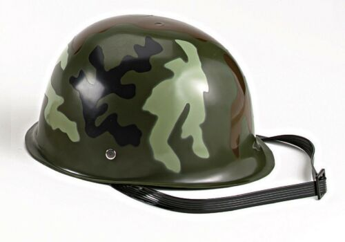 Kids/' Camouflage Army Hemet Woodland Camouflage Includes Chinstrap