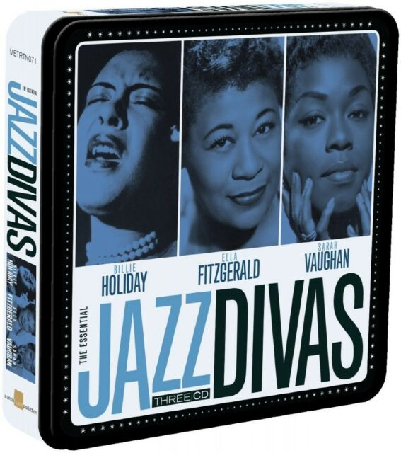 B/FitzGerald, I/Vaughan, S. Holiday-Jazz Divas (Limousine METALBOX Edition) 3 CD NUOVO