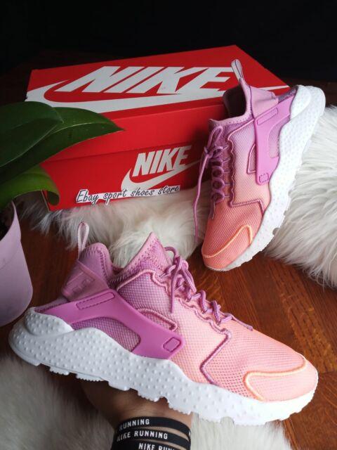 Size 6.5 WOMENS Nike Air Huarache Run Ultra BR ORCHD 833292 501 Running Shoes