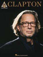 Eric Clapton Clapton Sheet Music Guitar Tablature Book 000691055