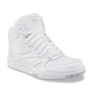 84a4f6fc5 New Mens Reebok Royal BB4500 Extra Wide White High-Top Leather ...