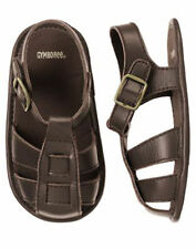 NWT GYMBOREE Monkey Trouble BROWN LEATHER FISHERMAN SANDALS SZ 01