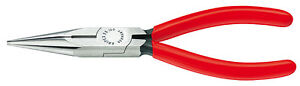 Knipex-25-01-160-Snipe-Nose-Side-Cutting-Plier-160-mm-2501160