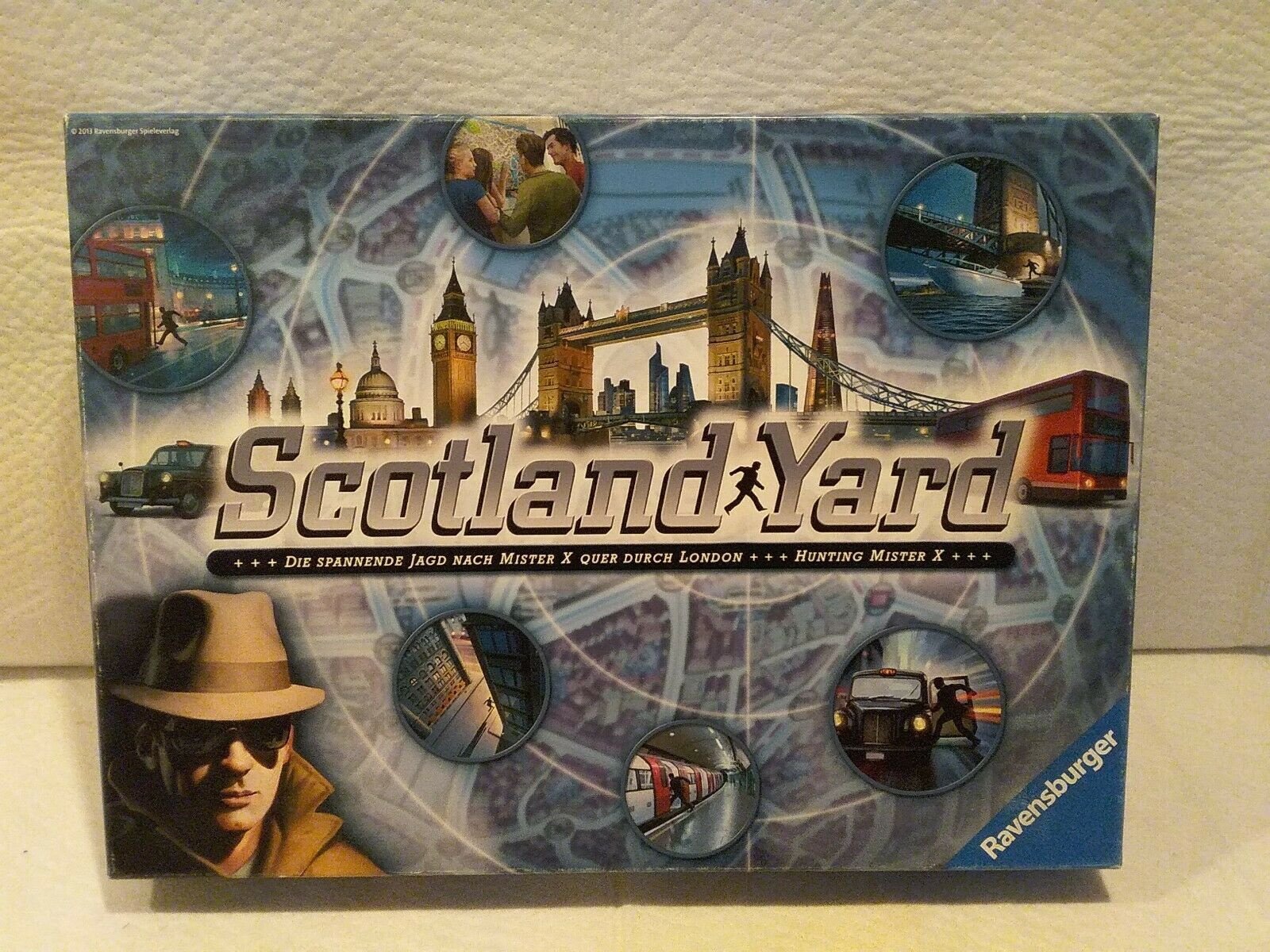 Genuine Game Parts Ravensburger 2016 Scotland Yard Junior
