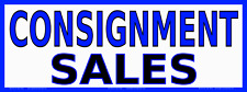 Consignment Sales White Vinyl Banner Many Sizes Made In Usa