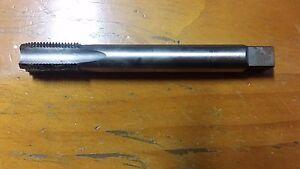 M12 x 1.5 HSS 2B long Hand Tap  OL 90mm FL 30mm INTERMEDIATE RH