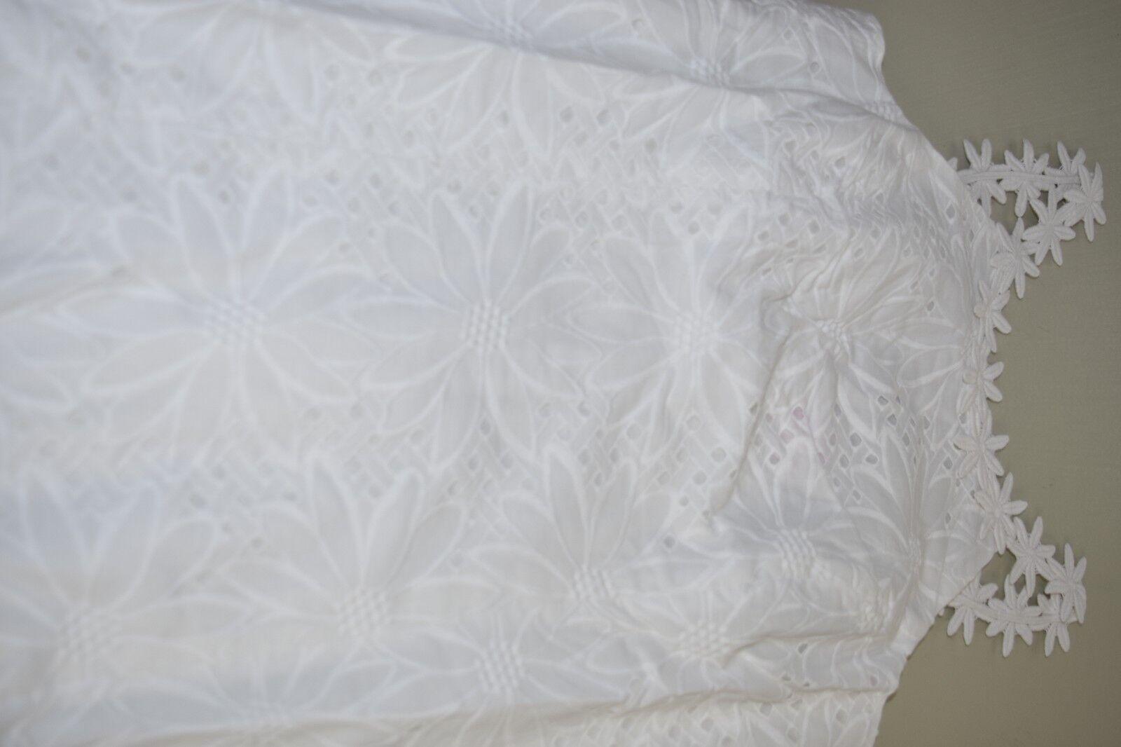 Neu Lilly Pulitzer Annabelle Schiftkleid Resort Resort Resort Weiß SonnenBlaume Öse 4 14 468782