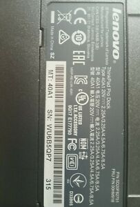 Lenovo-Thinkpad-Pro-Dock-Docking-Station-40A1