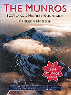 McNeish, Cameron, The Munros - Scotland's Highest Mountains, Very Good Book