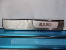 Saab 9 2x Brushed Stainless Door Sill Plate 4 Piece Kit 2005 2006