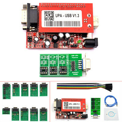 2018 NEW V1.3 New UPA USB Programmer With Full Adaptors With Nec Function