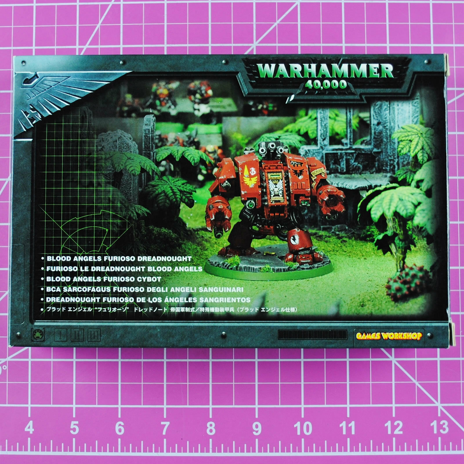 Warhammer 40K Blood Angels Furioso Dreadnought - Metal OOP, Citadel Space Marine