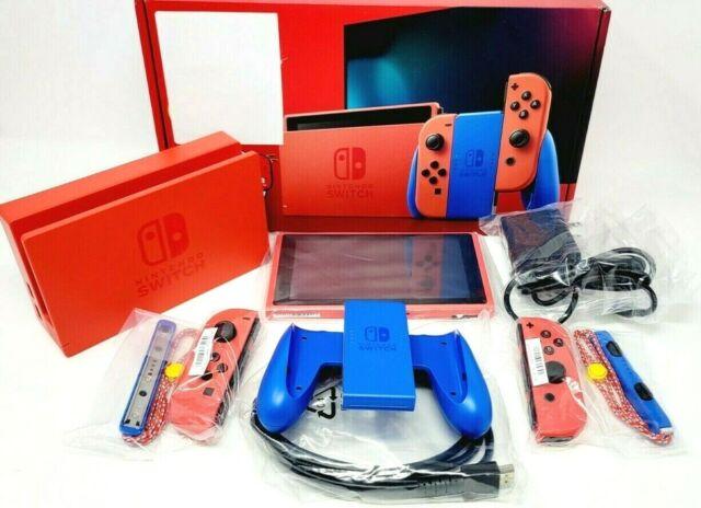 Nintendo Switch MARIO RED & BLUE EDITION Red Joy-Con - HADSRAAAF READ DESCRIPTIO