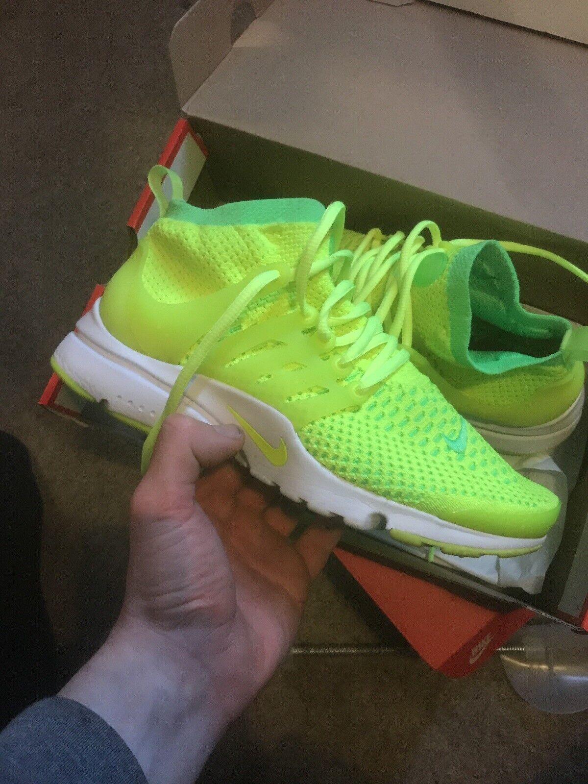 Nike Nike Nike Air Presto Flyknit Ultra Para Mujer Reino Unido 6 V Verde 684753